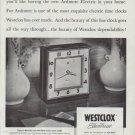 "1948 Westclox Ad ""Do you enjoy looking"""