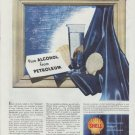 "1948 Shell Oil Company Ad ""Pure Alcohol"""