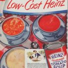"""1948 Heinz Ad """"Low-Cost"""""""