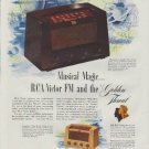 "1948 RCA Victor Ad ""Musical Magic"""