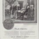 """1948 Great American Group Ad """"Plan for Independence"""""""