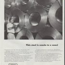 """1948 Armco Steel Ad """"cousin to a camel"""""""