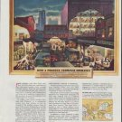 """1948 Armstrong Cork Company Ad """"How A Produce Terminal Operates"""""""