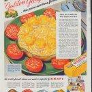 "1948 Kraft Ad ""Golden Glory"""