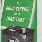 "1948 Delco Ad ""Good Service"""