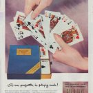 "1948 United States Playing Card Co. Ad ""A new perfection"""