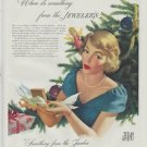 "1948 Jewelry Industry Council Ad ""Christmas"""
