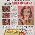 "1948 Camel Cigarettes Ad ""Smoking Test"""