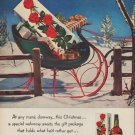 "1952 Four Roses Ad ""any man's doorway"""