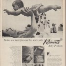 "1952 Kleinert's Ad ""Give baby a gift"""