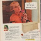 "1952 Lane Cedar Chests Ad ""This Christmas"""