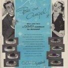 """1952 Gemex Ad """"Be an Angel"""""""