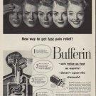 "1952 Bufferin Ad ""New way"""