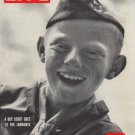 """1950 LIFE Magazine Cover Page """"Boy Scout"""""""