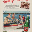 "1950 7-Up Ad ""For All Good Times"""