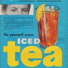 "1950 Tea Council Ad ""Under Pressure"""