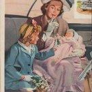 "1950 General Motors Ad ""Key to quiet travel"""