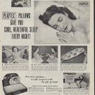 "1950 Playtex Ad ""Hay Fever Sufferers"""
