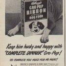 "1950 Kellogg's Ad ""Let's Eat"""