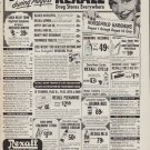 """1952 Rexall Ad """"Save during August"""""""