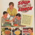 """1952 Campbell's Soup Ad """"Make a HIT"""""""