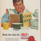 """1952 Jell-O Ad """"Cook Book"""""""