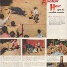 "1952 Canadian Club Ad ""Amateur Hour"""