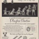 "1952 Playtex Panties Ad ""Baby ... it's a soft life"""