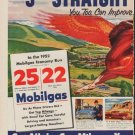 "1952 Mobilgas Ad ""Year Of Proof"""
