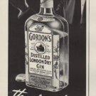 """1952 Gordon's Gin Ad """"no gin"""""""