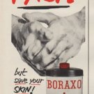 "1952 Boraxo Ad ""Get that DIRT"""