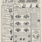 """1954 Rexall Drug Stores Ad """"July Jubilee"""""""