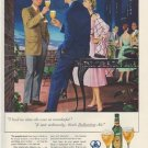 "1954 Ballantine Ale Ad ""I had no idea"""