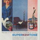 "1961 Super Kem-Tone Ad ""The suit is new"""