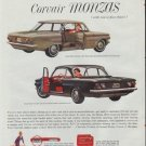 "1961 Chevy Corvair Ad ""take your pick"""
