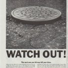 """1961 Chemstrand Ad """"Watch Out"""""""