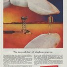 "1961 Western Electric Ad ""telephone progress"""