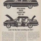 "1961 Ford Falcon Ad ""550,000 people"""