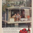 """1961 Four Roses Whiskey Ad """"The Good Life"""""""
