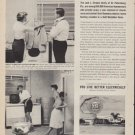 """1961 Gold Medallion Home Ad """"Flameless electric living"""""""