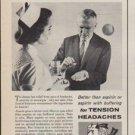 """1961 Anacin Ad """"Tense, Nervous Headaches"""""""