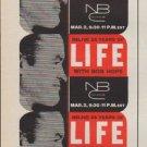 "1961 LIFE and NBC Ad ""with Bob Hope"""