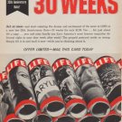 "1961 LIFE Magazine Ad ""30 weeks"""