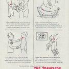 "1958 The Travelers Insurance Ad ""Ed Ryan"""