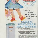 """1958 Permaglas Ad """"50% Longer Guarantee"""""""