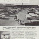 "1958 New York Life Insurance Ad ""new patterns"""