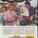 """1958 Hertz Ad """"Esther Williams"""""""