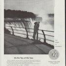 "1958 New York State Ad ""Tips of His Toes"""