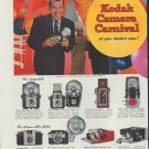 """1958 Kodak Ad """"Kodak Camera Festival"""""""
