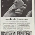 """1958 Norelco Ad """"Hold Tomorrow In Your Hand"""""""